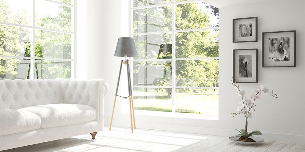 White Room uPVC Window